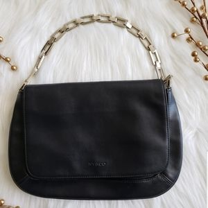 5/$20🦋NY&CO black cluth with silver chain handbag
